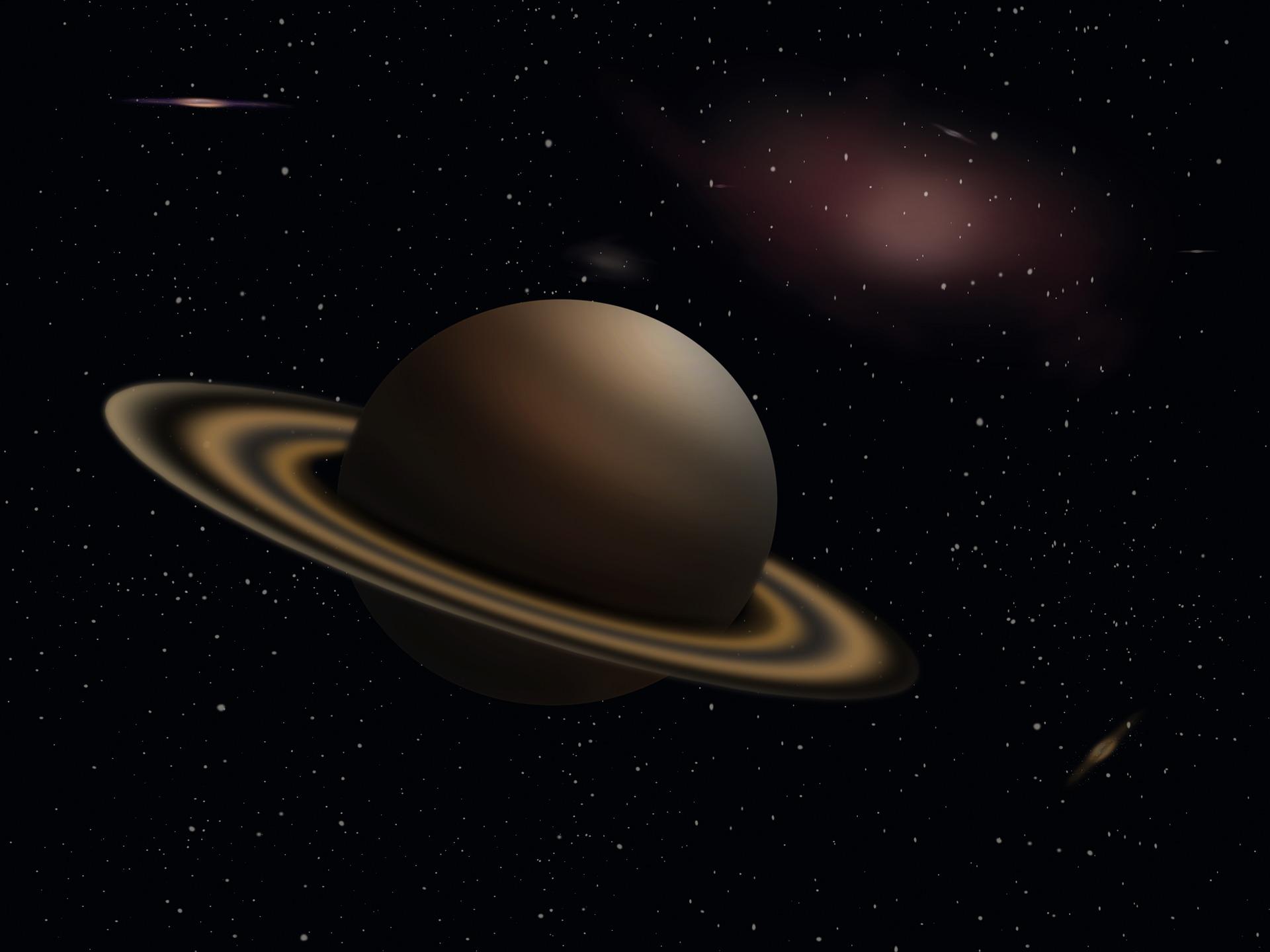 Saturn nije uvijek imao svoje prstenove