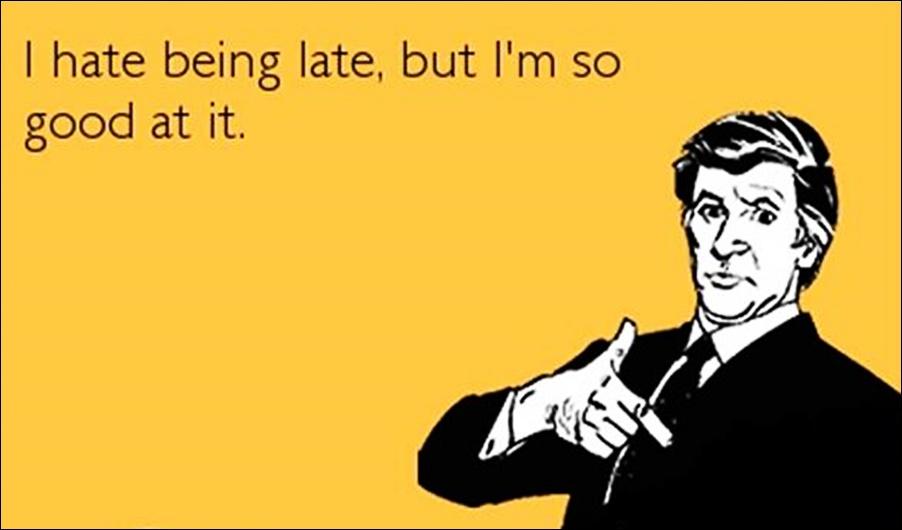 Ljudi koji kasne su generalno sretniji od drugih
