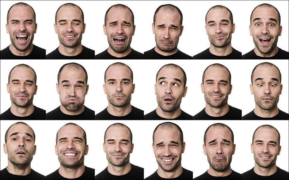 Ljudsko lice je evoluiralo zbog potrebe za izražavanjem emocija