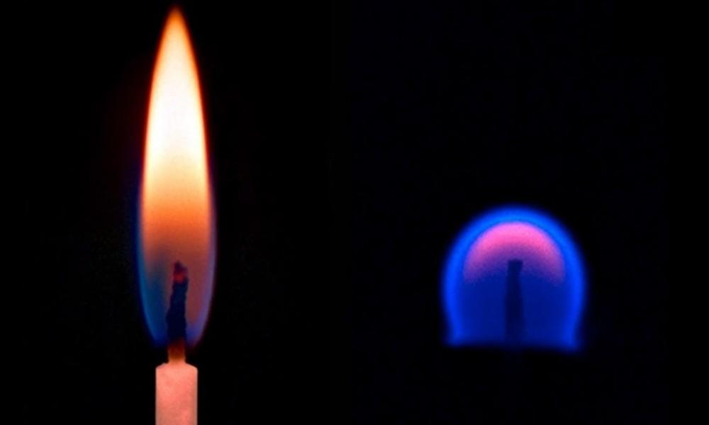 Što se događa ako zapalimo svijeću u svemiru?